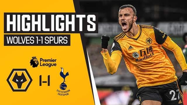 Video Highlight Wolves - Tottenham