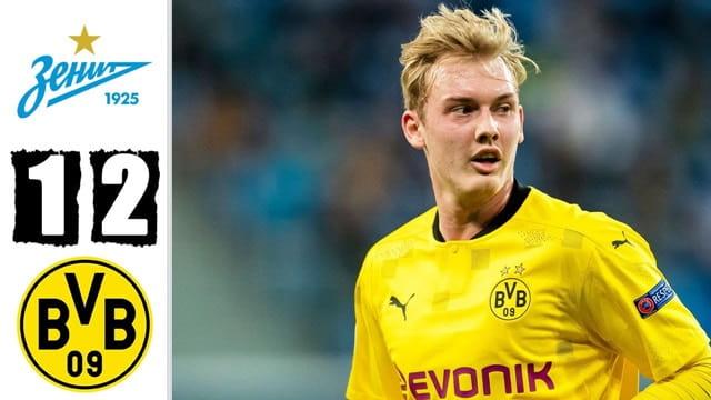 Video Highlight Zenit – Dortmund