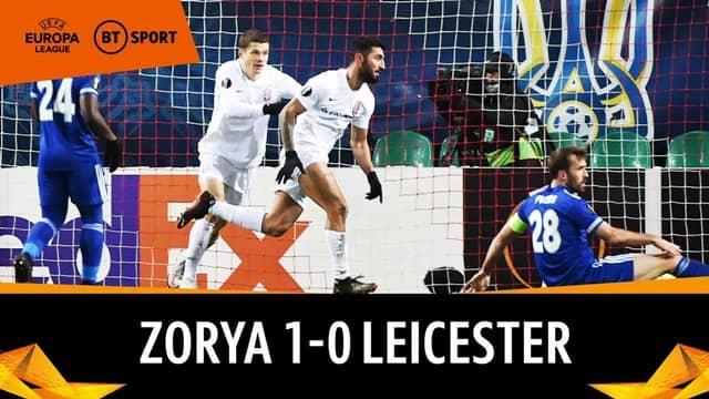 Video Highlight Zorya Luhansk - Leicester