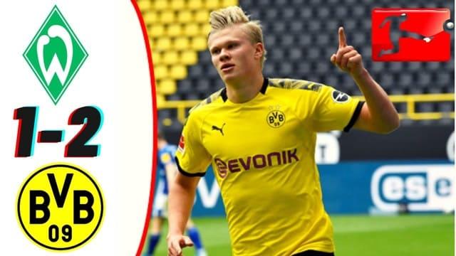 Video Highlight Werder Bremen - Dortmund