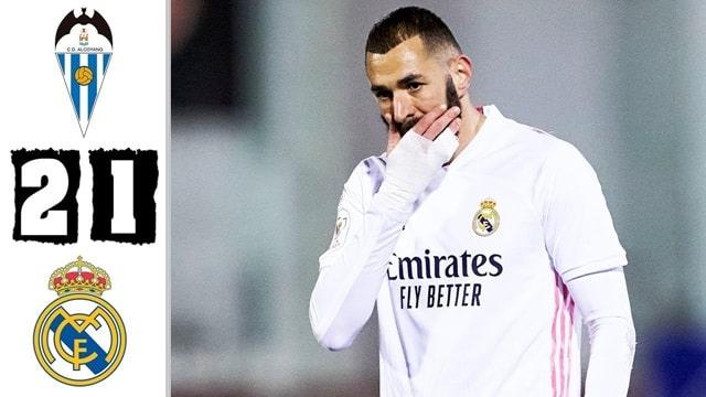 Video Highlight Alcoyano - Real Madrid