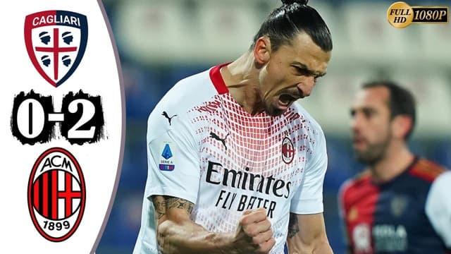Video Highlight Cagliari - AC Milan
