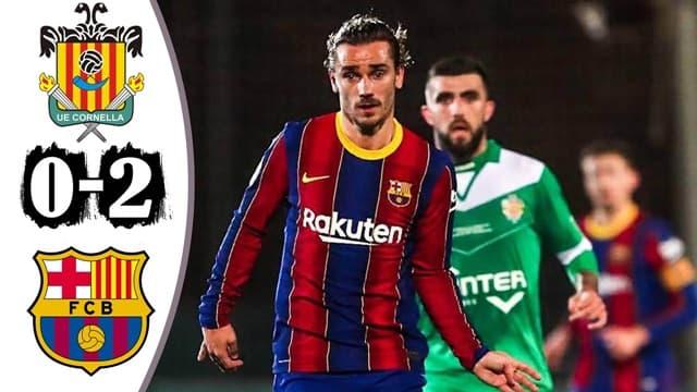 Video Highlight Cornella - Barcelona