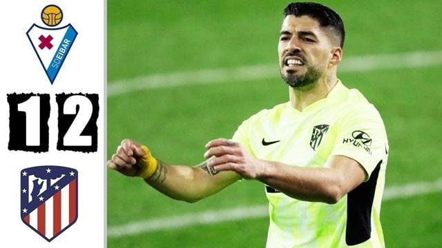 Video Highlight Eibar - Atletico Madrid