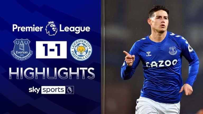 Video Highlight Everton - Leicester