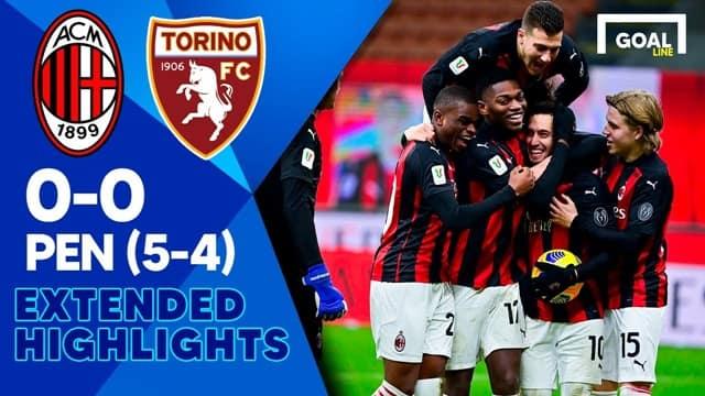 Video Highlight AC Milan - Torino