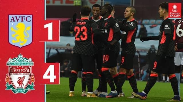 Video Highlight Aston Villa - Liverpool