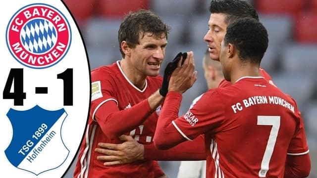 Video Highlight Bayern Munich - Hoffenheim