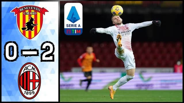Video Highlight Benevento - AC Milan