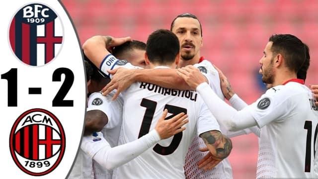 Video Highlight Bologna - AC Milan