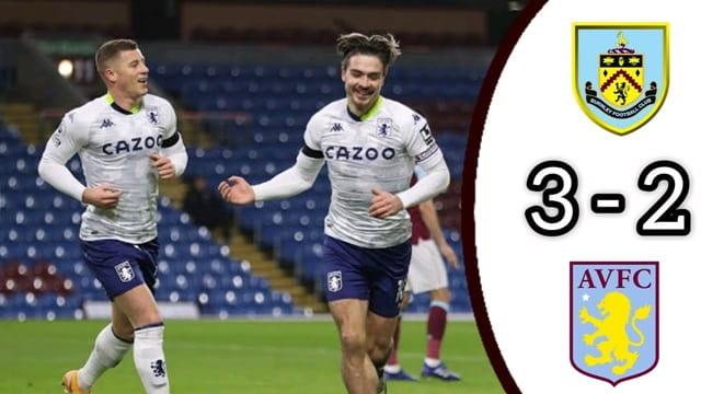 Video HIghlight Burnley - Aston Villa
