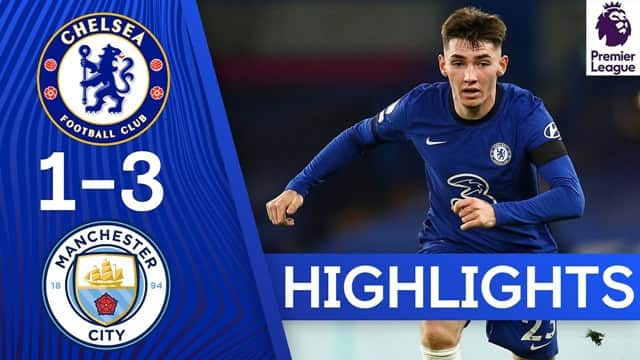 Video Highlight Chelsea - Man City