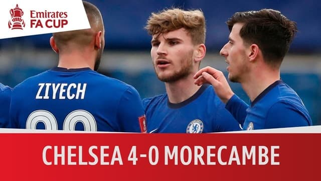 Video Highlight Chelsea - Morecambe