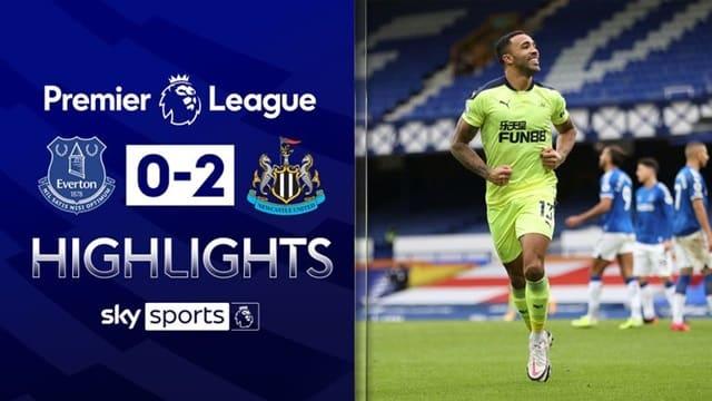 Video Highlight Everton - Newcastle
