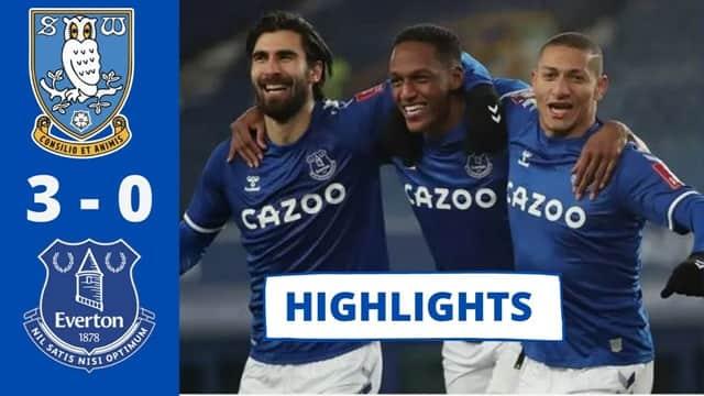Video Highlight Everton - Sheffield Wednesday