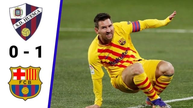 Video Highlight Huesca - Barcelona