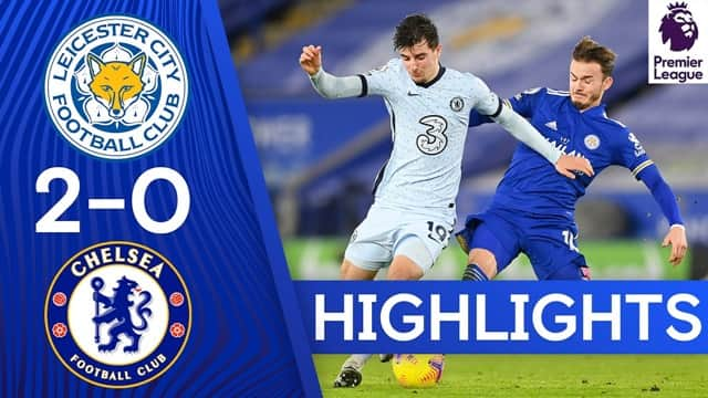Video Highlight Leicester - Chelsea