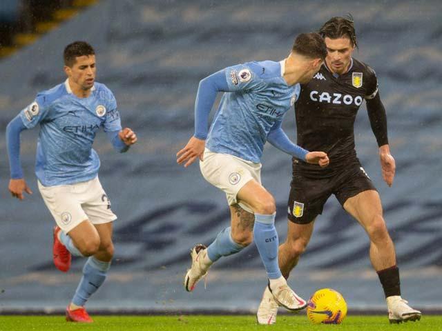 Aston Villa đôi lúc gây ra nhiều khó khăn cho Man City