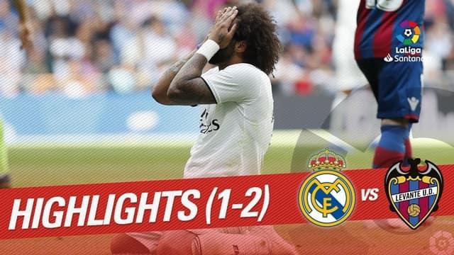 Video Highlight Real Madrid - Levante
