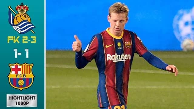 Video Highlight Real Sociedad - Barcelona