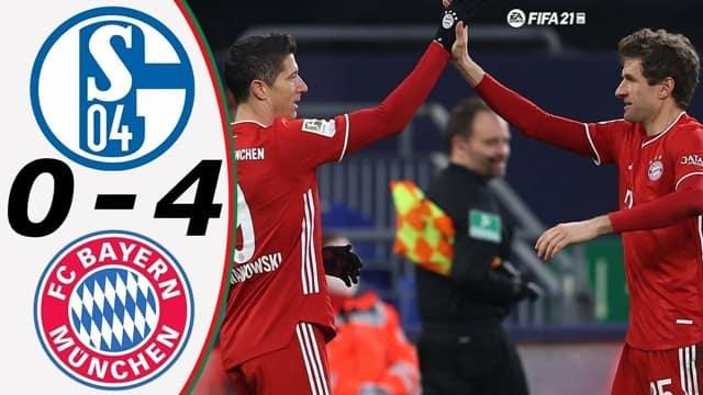 Video Highlight Schalke 04 - Bayern Munich
