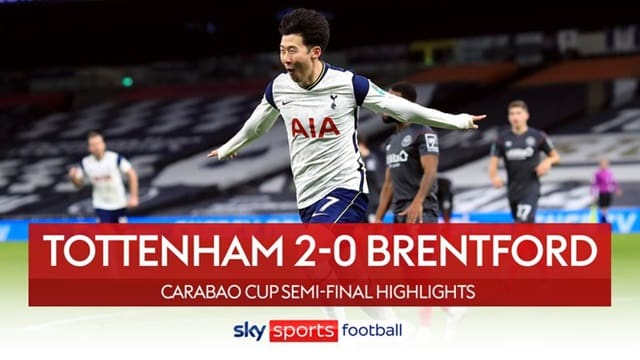 Video Highlight Tottenham - Brentford