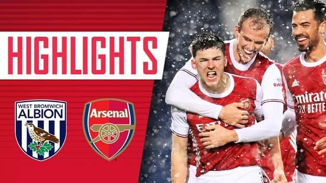 Video Highlight West Brom - Arsenal