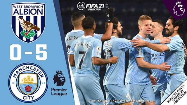 Video Highlight West Brom - Man City