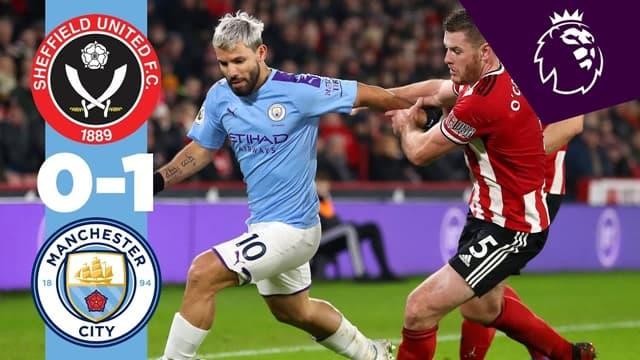 Video Highlight Man City - Sheffield United