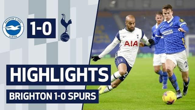 Video Highlight Brighton - Tottenham