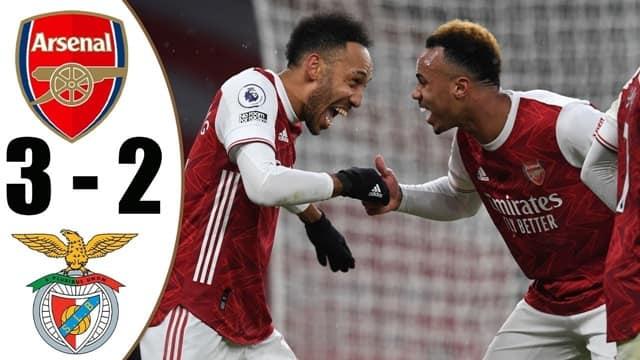 Video Highlight Arsenal - Benfica