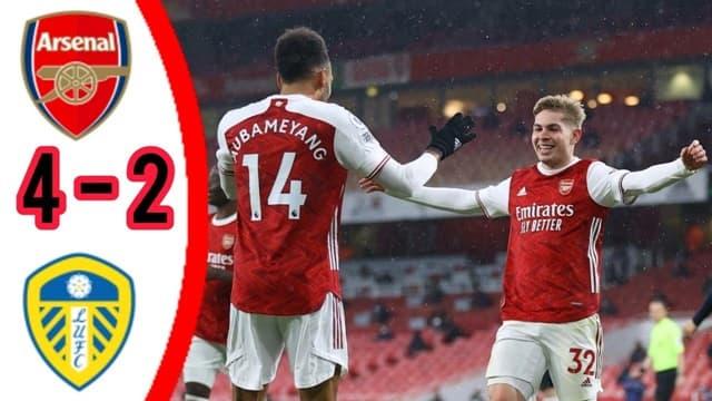 Video Highlight Arsenal - Leeds