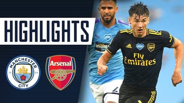Video Highlight Arsenal - Man City