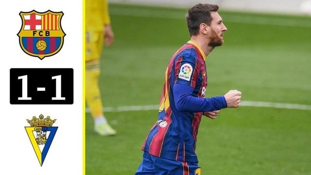 Video Highlight Barcelona - Cadiz