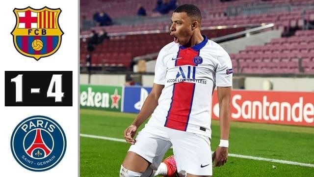 Video Highlight Barcelona - PSG