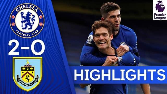 Video Highlight Chelsea - Burnley