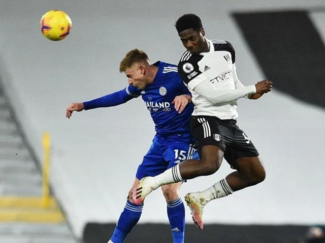Fulham chỉ có thể gây khó dễ cho Leicester trong những phút đầu tiên