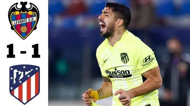 Video Highlight Levante - Atletico Madrid