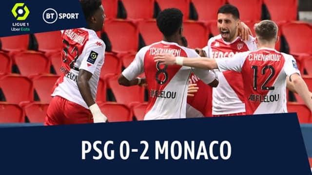 Video Highlight PSG - Monaco