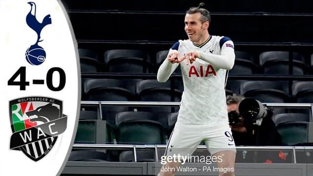 Video Highlight Tottenham - Wolfsberger