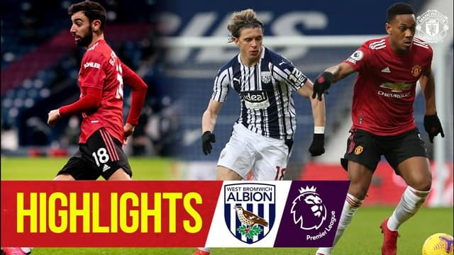 Video Highlight West Brom - MU