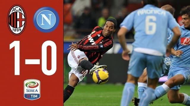 Video Highlight AC Milan - Napoli