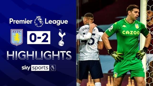 Video Highlight Aston Villa - Tottenham