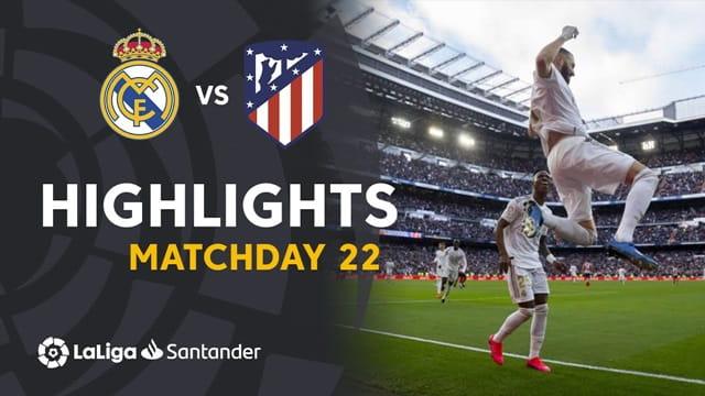 Video Highlight Atletico Madrid - Real Madrid