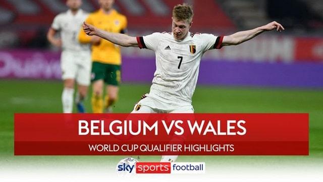 Video Highlight Bỉ - Xứ Wales