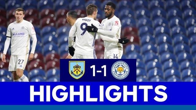 Video Highlight Burnley - Leicester City