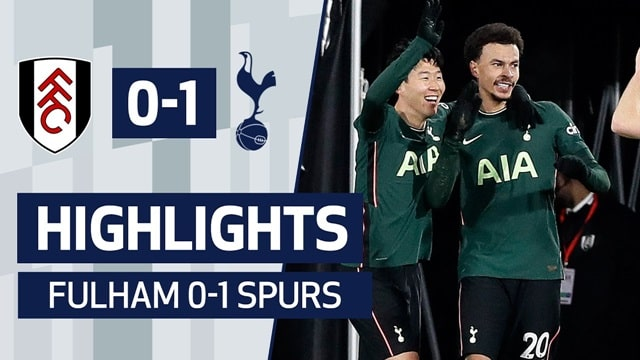 Video Highlight Fulham - Tottenham