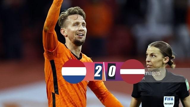 Video Highlight Hà Lan - Latvia