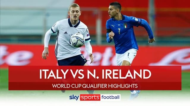 Video Highlight Italia - Bắc Ireland