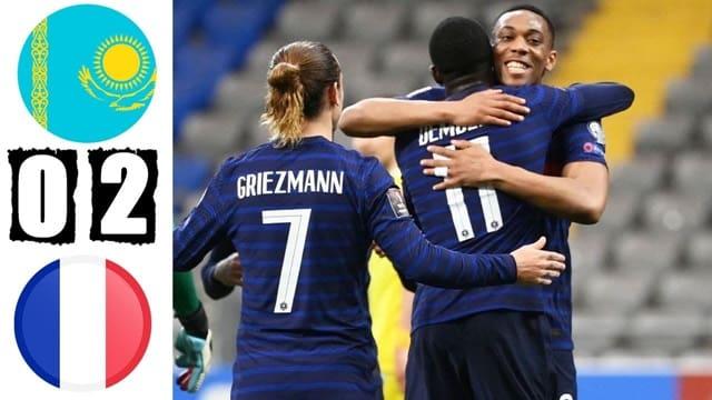 Video Highlight Kazakhstan - Pháp